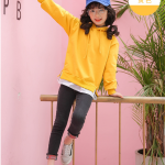 เสื้อคลุม สีเหลือง แพ็ค 5 ชุด ไซส์ 120-130-140-150-160 (เลือกไซส์ได้)