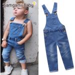 เอี๊ยมกางเกง สีน้ำเงิน แพ็ค 5ชุด ไซส์ 80-90-100-110-120 (เลือกไซส์ได้)