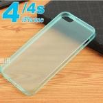 เคสไอโฟน4 case iphone 4s เคสซิลิโคนใส แบบบางพิเศษ Ultra-thin TPU transparent