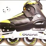 รองเท้าสเก็ต rollerblade รุ่น MSY สีเหลืองดำ Fixed Size 44