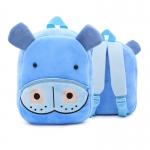 กระเป๋าฮิปโปสีฟ้า