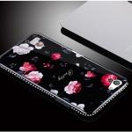 เคส OPPO Mirror 5 Lite / Mirror 5 Lite 4G พลาสติกลายดอกไม้สุดวิ้งสวยงาม ราคาถูก (ไม่รวมสายคล้องและแหวน)