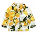 เสื้อ สีเหลือง แพ็ค 5 ชุด ไซส์ 110-120-130-140-150 (เลือกไซส์ได้)