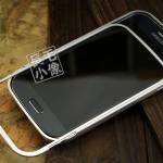 Case Samsung Galaxy Grand i9082-i9080 ขอบเคส bumper โลหะอลูมิเนียมอัลลอย แยกประกอบ 2 ชิ้นโดยการสไลด์ ไม่ต้องไขน๊อต สามารถถอดฝาหลังออกได้โดยไม่ต้องถอด bumper ออก น้ำหนักเบา สวยมากๆ ด้านในขอบมีแผ่นแปะเพื่อป้องกันตัวเครื่องเป็นรอย Aluminum alloy Bumper Witho