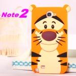Case Samsung Galaxy Note 2 เคสซิลิโคน3D การ์ตูน disney น่ารักๆ เคสมือถือราคาถูกขายปลีกขายส่ง -B-