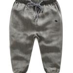 กางเกง สีเทา แพ็ค 6 ชุด ไซส์ 90-100-110-120-130-140