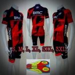ชุดปั่นจักรยาน Proteam Cycling Suits เป้า 99D ปี 2018(เสื้อแขนสั้น + กางเกงขาสั้น)