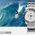 นาฬิกาข้อมือชายแฟชั่น Shank Sport watch SH016