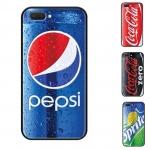 เคส OPPO A3s เคสซิลิโคนขอบดำ ลายกระป๋องน้ำอัดลม กระป๋องโค้ก Pepsi,Coke,Coke Zero กระป๋องเปียกน้ำด้วย เท่ๆ แนวๆ แปลกๆ ไม่มีใครเหมือน
