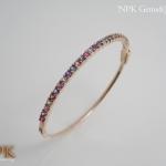 กำไลข้อมือแฟนซีซัฟไฟร์พม่า (Fancy Burma Sapphire Bracelet)