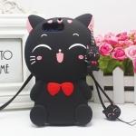 เคส Huawei Honor V9 ซิลิโคน 3 มิติ แมวน้อยแสนน่ารัก ราคาถูก
