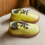 รองเท้าเด็กแฟชั่น สีเหลือง แพ็ค 5 คู่ ไซส์ 26-27-28-29-30