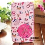 Case Samsung Galaxy Note 2 IN : HANDS เคสฝาพับข้างลายดอกไม้สวยๆ ลายหวานๆ เคสมือถือราคาถูกขายปลีกขายส่ง