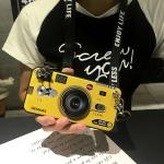 เคส Huawei Mate 8 ซิลิโคนรูปกล้องถ่ายรูปสุดเท่ ตรงเลนส์สามารถยืดออกมาตั้งได้ พร้อมสายคล้อง ราคาถูก