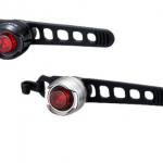 CAT EYE ไฟท้ายกระพริบรุ่น ORB, SL-LD160-R ,สีดำไฟแดง และสีเงิน ไฟแดง (กรุณาระบุสีบอดี้ไฟ)