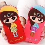 เคส E7 Case Samsung Galaxy E7 ซิลิโคนเด็กผู้หญิงแสนหวานน่ารักแนวคุณหนู ร่าเริง สดใส ราคาส่ง ราคาถูก ราคาปลีก