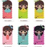 เคส Samsung Galaxy Note 2 ซิลิโคนเด็กผู้หญิงน่ารักสดใสมากๆ ราคาส่ง ราคาถูก