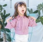 เสื้อ สีชมพู แพ็ค 5ชุด ไซส์ 80cm-90cm-100cm-110cm-120cm