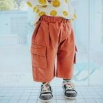กางเกง สีส้ม แพ็ค 6 ชุด ไซส์ 80-90-100-110-120