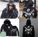 เสื้อฮู้ด สีดำ แบบ CL