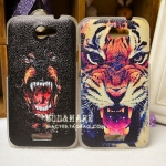 เคส Htc One X ลายโหดๆ สุดแนว HTC ONE X phone shell mobile phone sets onex personality Tiger G23 Case Protective Case