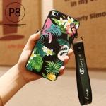 เคส Huawei P8 ซิลิโคนสกรีนลายฟลามิงโก สวยงามมาก ราคาถูก (แบบสั้นหรือยาวแล้วแต่ร้านจีนแถมมา)