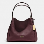 Preorder COACH EDIE SHOULDER BAG 31 IN REFINED PEBBLE LEATHER Style No: 36464