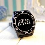 นาฬิกา 2PM (กันน้ำ) สีดำ