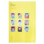 โปสเตอร์ official #EXO Album EX'ACT (พร้อมกระบอก)