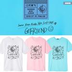 เสื้อยืด เสื้อแฟชั่นไอดอล #iGfriend Sunny Summer (พรีออเดอร์)