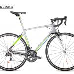 จักรยานเสือหมอบเฟรมคาร์บอน TRINX TORNADO1.0 22สปีด DI2 Ultegra ตะเกียบฟูลคาร์บอน 2018