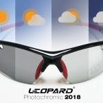 แว่นตากันแดดสำหรับปั่นจักรยาน Leopard รุ่น Photochromic 2018
