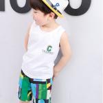 เสื้อ+กางเกง สีเขียว แพ็ค 5 ชุด ไซส์ 80-90-100-110-120