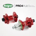 ดุมดิสเบรค HOPE PRO 4 32H MTB Disc Hubs