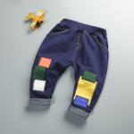 กางเกง สีน้ำเงิน แพ็ค 4ชุด ไซส์ 80-90-100-110 (เหมาะสำหรับ 6ด.-4ปี)