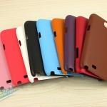 เคส Note 2 Case Samsung Galaxy Note 2 II N7100 เคสหนังเกาะหลัง บาง เรียบ หรู ดูดี Skin rabbits phone shell n7100 protective cover