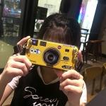 เคส Huawei GR5 (2017) ซิลิโคนรูปกล้องถ่ายรูปสุดเท่ ตรงเลนส์สามารถยืดออกมาตั้งได้ พร้อมสายคล้อง ราคาถูก
