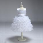 ชุดกระโปรง สีขาว แพ็ค 6 ชุด ไซส์ 90-100-110-120-130-140 (เลือกไซส์ได้)