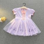 ชุดเจ้าหญิง สีม่วง แพ็ค 5ชุด ไซส์ 90-100-110-120-130 (เลือกไซส์ได้)