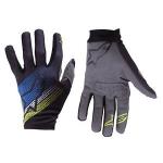 ถุงมือเต็มนิ้ว Alpinestars รุ่น Predator ดีไซน์ด้วยสีสันสะดุดตา แนบกระชับเข้ารูปตามสรีระของมือ
