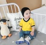 เสื้อ สีเหลือง แพ็ค 6 ชุด ไซส์ 66-73-80-80-90-90