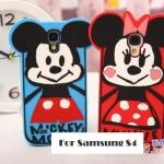 เคสซัมซุงเอส4 Case Samsung Galaxy S4 i9500 ซิลิโคนมินี่ มิกกี้ ชิฟเดล เดซี่ โดนัลด์ เคสมือถือ ราคาถูก ขายส่ง -B-