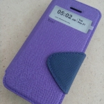 Case iPhone 5s / iPhone 5 ยี่ห้อ Roar สีม่วง