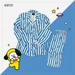 #BT21 PAJAMAS ชุดนอน (เสื้อ+กางเกง) : CHIMMY