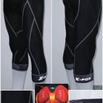 กางเกงขาสี่ส่วน X-FOX (เป้าเจลพร้อมแถุบซิลิโคนปลายขา),XF-11502 ,2018
