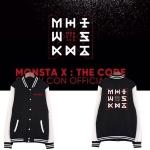 เสื้อเบสบอลแขนยาว MONSTA X - THE CODE