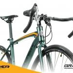 จักรยานเสือหมอบ TIGER GRAVELO 14speed เฟรมอลู ดิสเบรค ล้อ700C, 2018