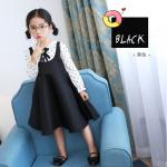 ชุดกระโปรง สีดำ แพ็ค 5 ชุด ไซส์ 100-110-120-130-140 (เลือกไซส์ได้)