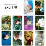 ชุดการ์ดสติกเกอร์ #EXO (แฟนเมด)