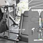 ขาตั้งจักรยาน Akino Stand by me Fork stand-สีขาว และสีดำ